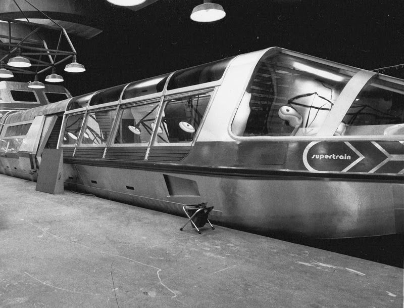 O trem-bala movido a energia nuclear: o 'Supertrem' da década de 1970 06