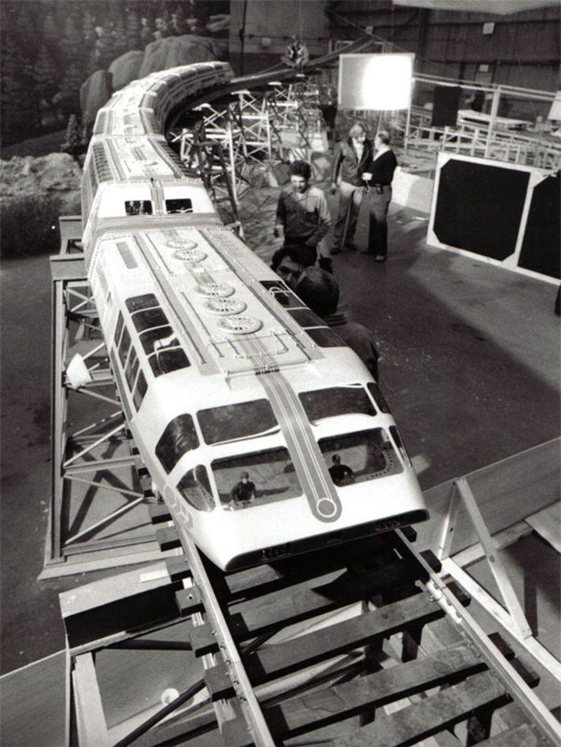 O trem-bala movido a energia nuclear: o 'Supertrem' da década de 1970 11
