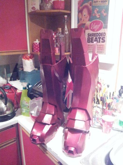 Fã constrói impressionante traje do Iron Man 12