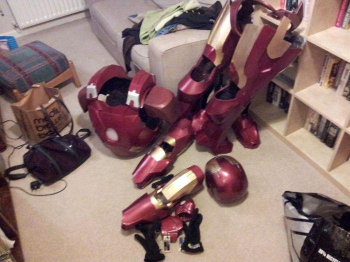 Fã constrói impressionante traje do Iron Man 18