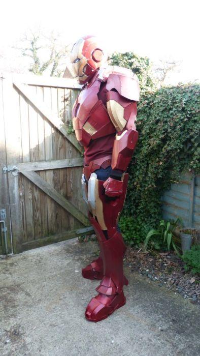 Fã constrói impressionante traje do Iron Man 20