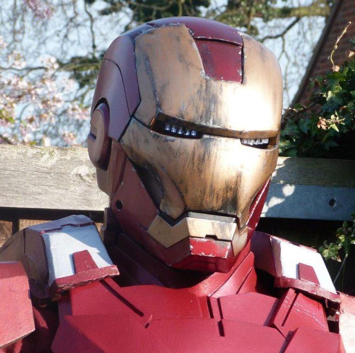 Fã constrói impressionante traje do Iron Man 27