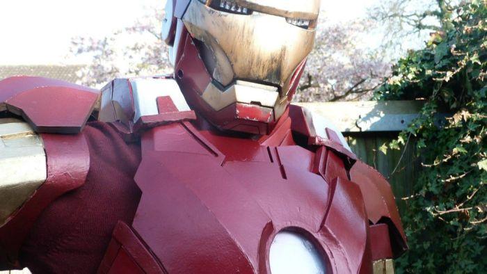 Fã constrói impressionante traje do Iron Man 29