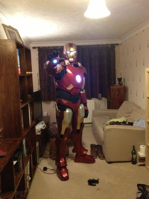 Fã constrói impressionante traje do Iron Man 31