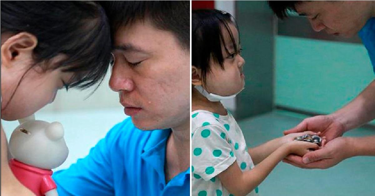 Menina de 7 anos com doença terminal rejeita tratamento para salvar irmã bebê