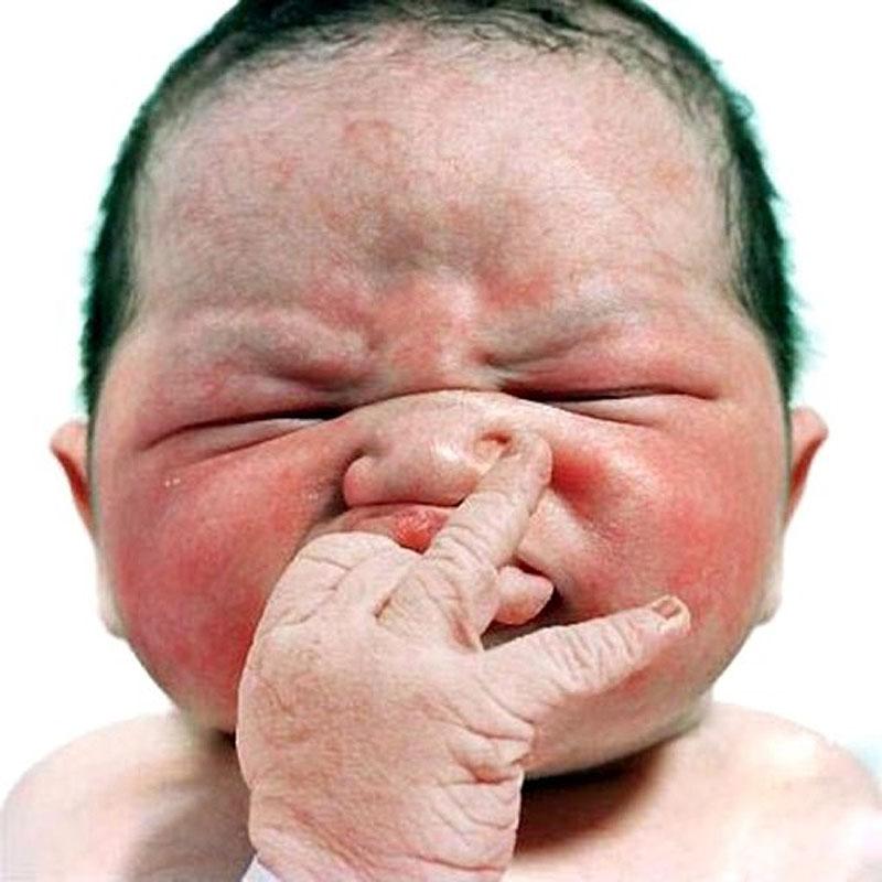 Bichinhos de goiaba - Retratos de recém-nascidos 01