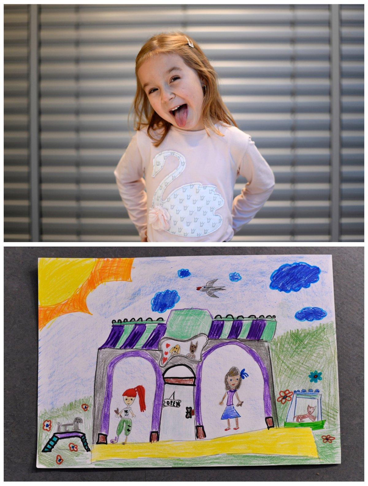 Crianças de todo o mundo desenham fotos do que querem para o Natal 01