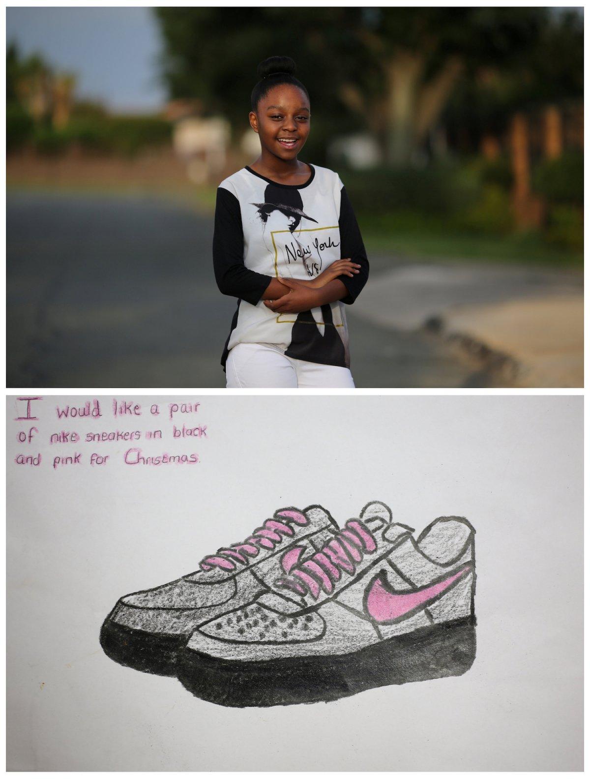 Crianças de todo o mundo desenham fotos do que querem para o Natal 03