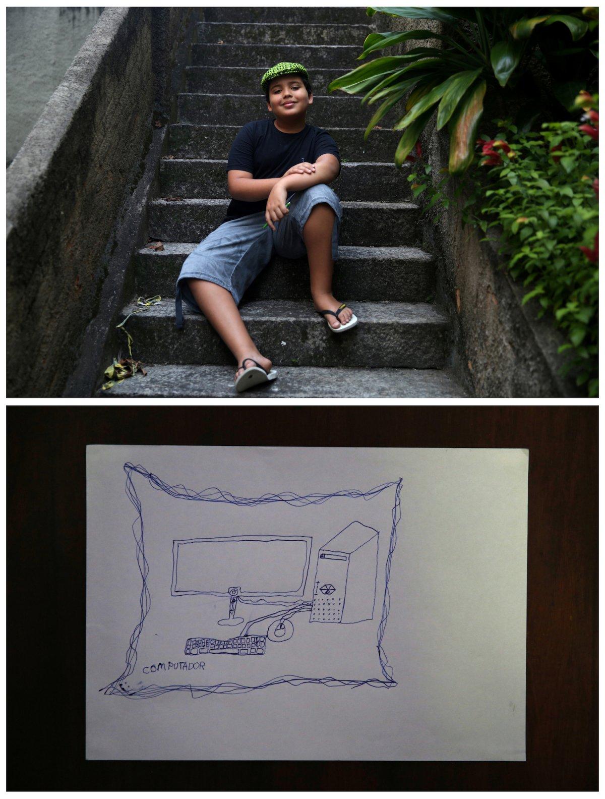 Crianças de todo o mundo desenham fotos do que querem para o Natal 05