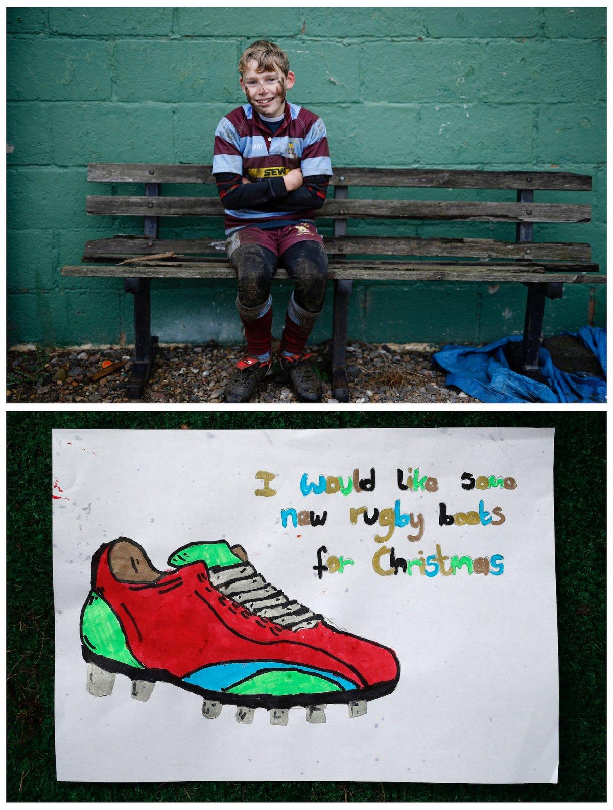 Crianças de todo o mundo desenham fotos do que querem para o Natal 10