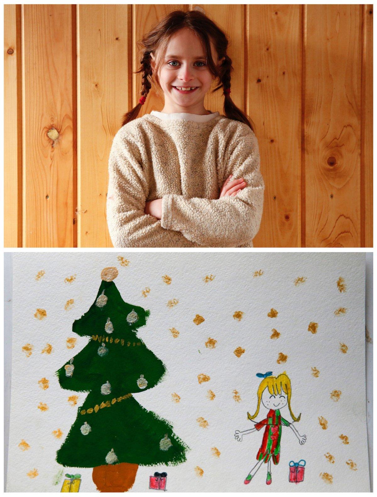 Crianças de todo o mundo desenham fotos do que querem para o Natal 11