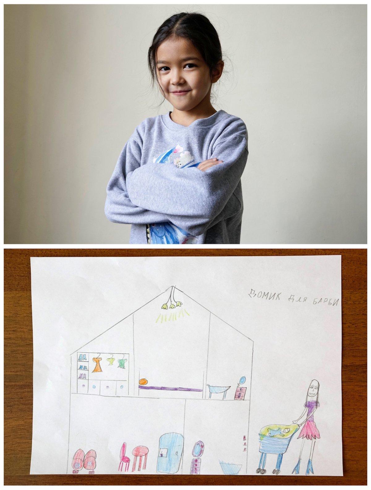 Crianças de todo o mundo desenham fotos do que querem para o Natal 12