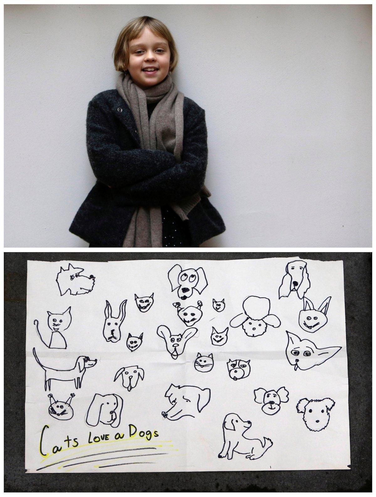 Crianças de todo o mundo desenham fotos do que querem para o Natal 13