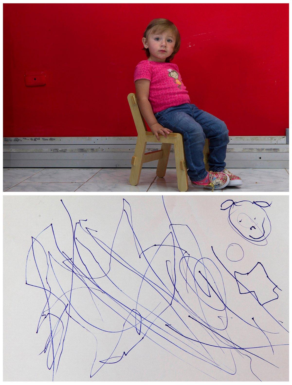 Crianças de todo o mundo desenham fotos do que querem para o Natal 19
