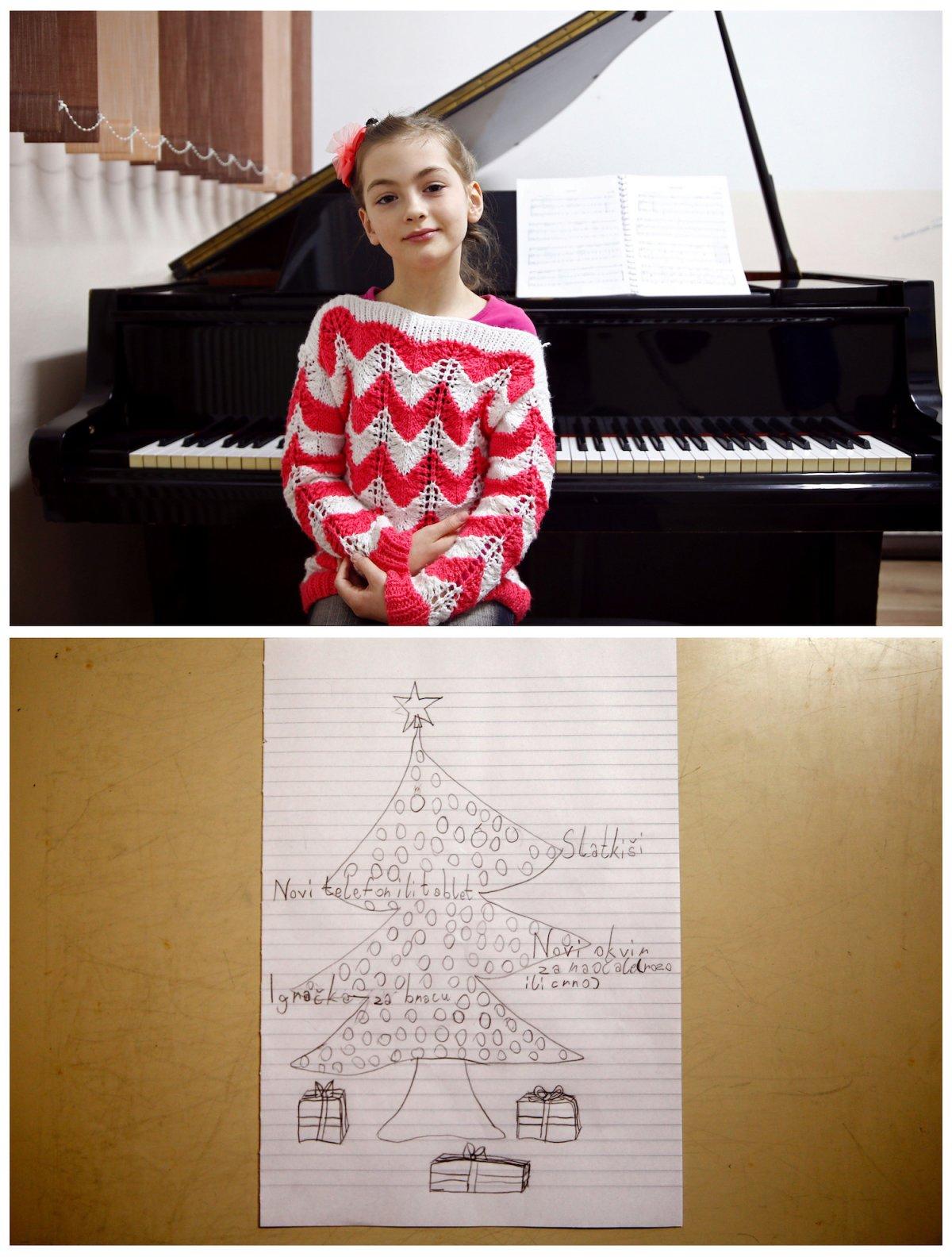 Crianças de todo o mundo desenham fotos do que querem para o Natal 21