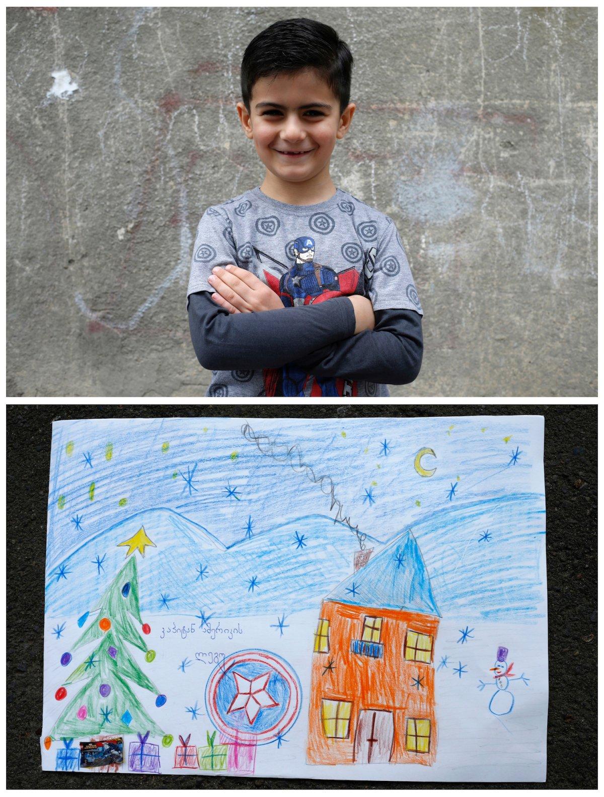 Crianças de todo o mundo desenham fotos do que querem para o Natal 22