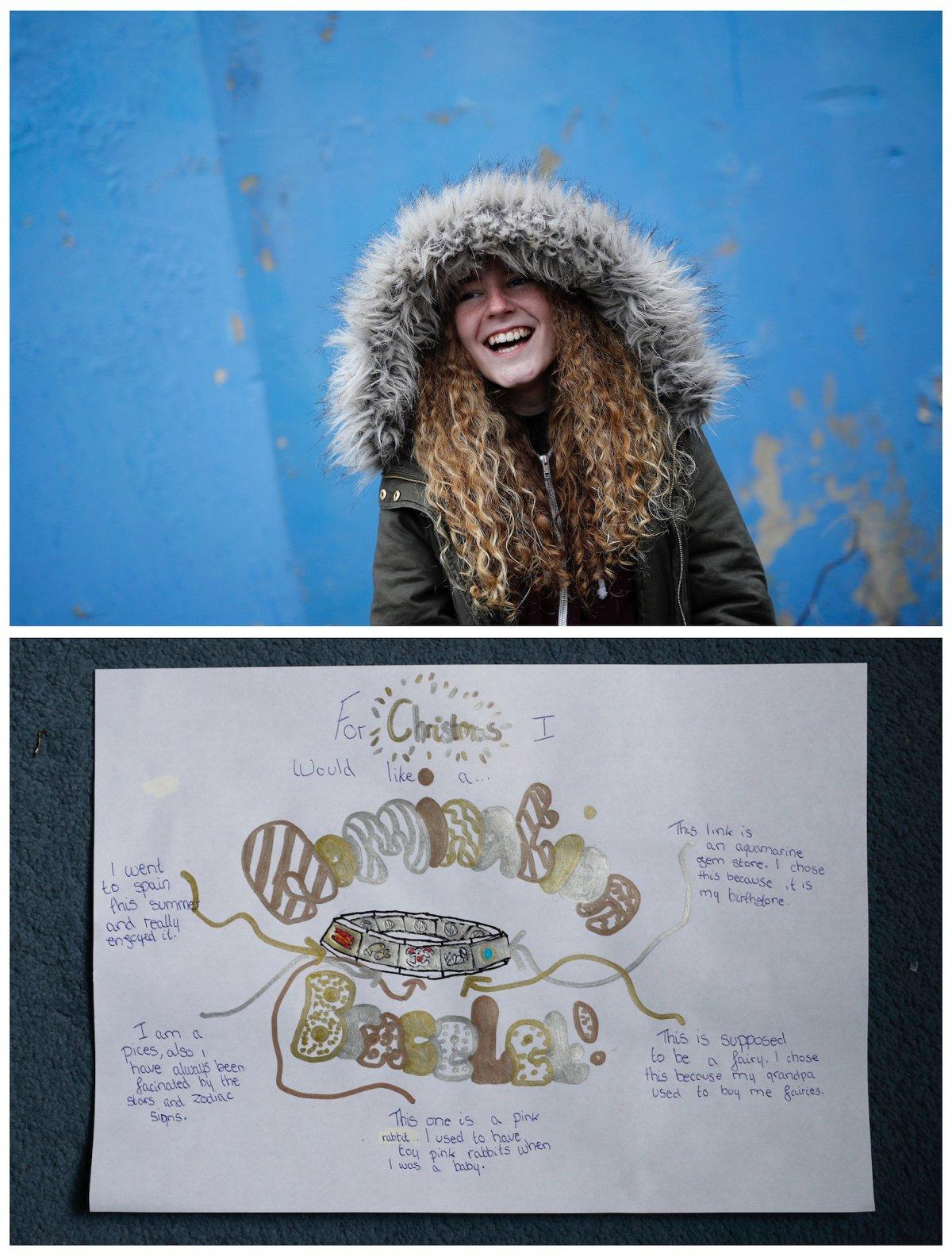 Crianças de todo o mundo desenham fotos do que querem para o Natal 24