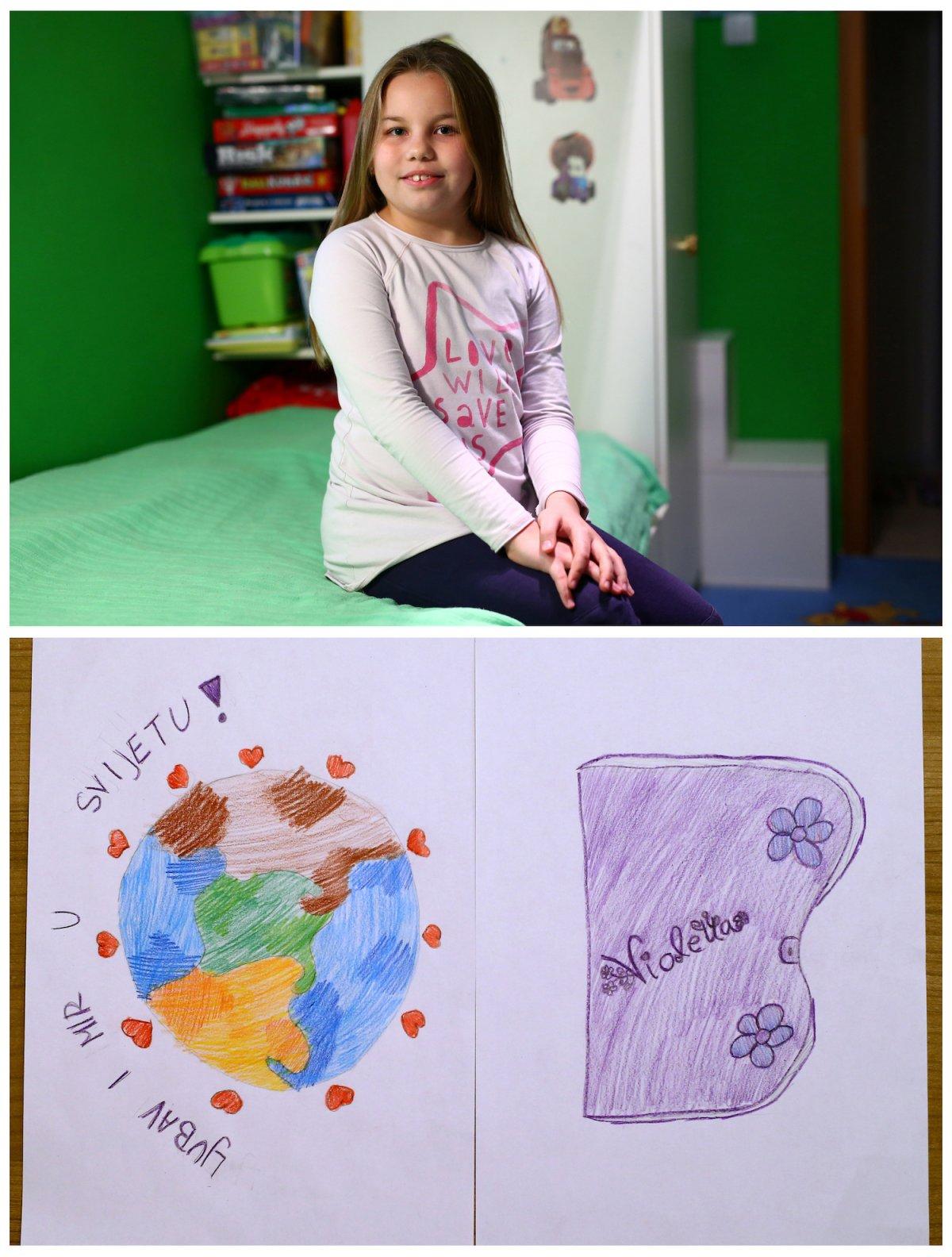 Crianças de todo o mundo desenham fotos do que querem para o Natal 25