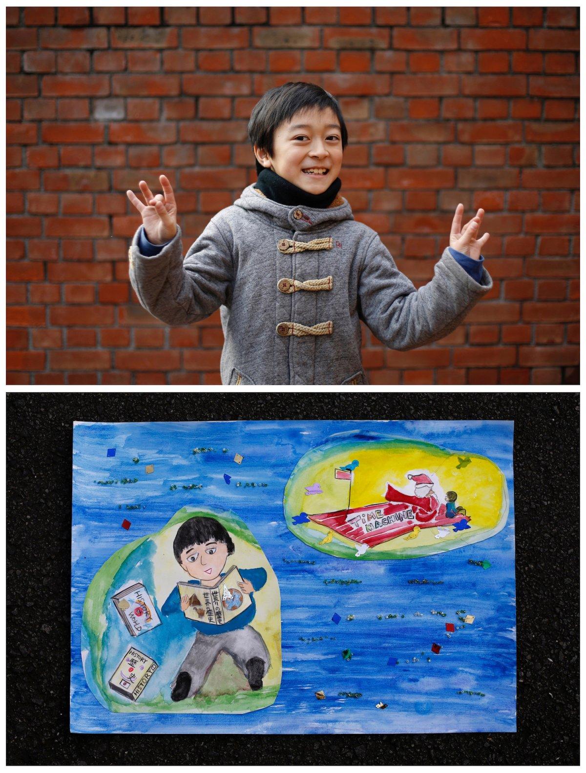 Crianças de todo o mundo desenham fotos do que querem para o Natal 26