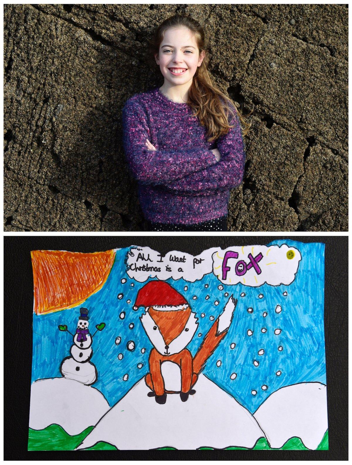 Crianças de todo o mundo desenham fotos do que querem para o Natal 29