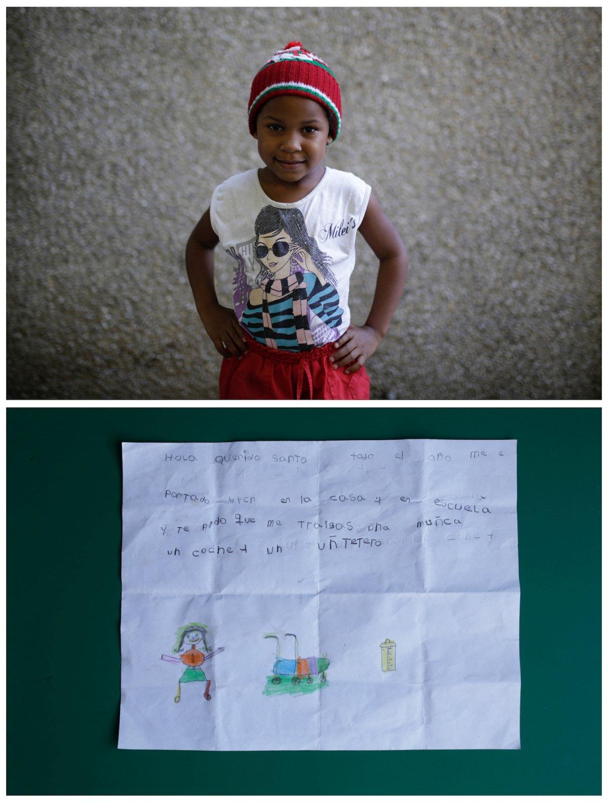 Crianças de todo o mundo desenham fotos do que querem para o Natal 30
