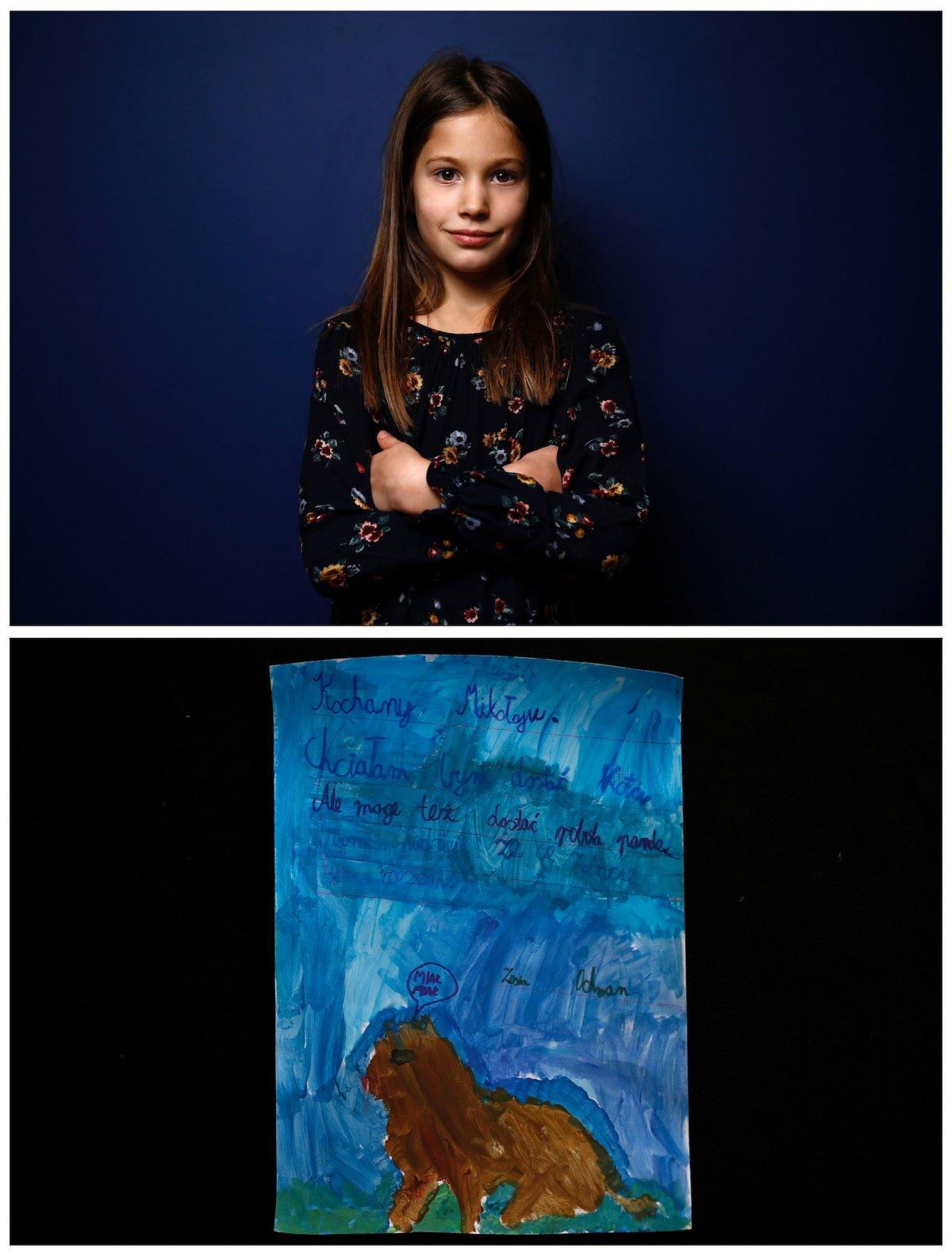Crianças de todo o mundo desenham fotos do que querem para o Natal 31