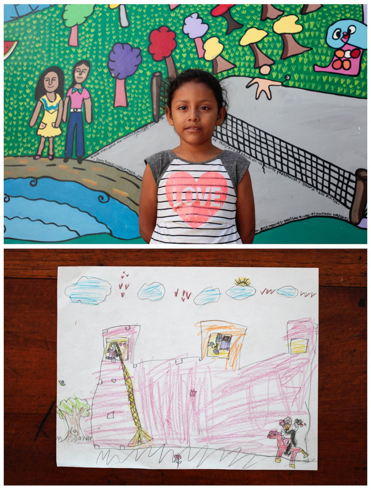 Crianças de todo o mundo desenham fotos do que querem para o Natal 32