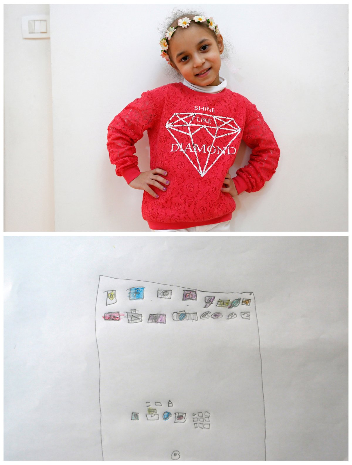 Crianças de todo o mundo desenham fotos do que querem para o Natal 34