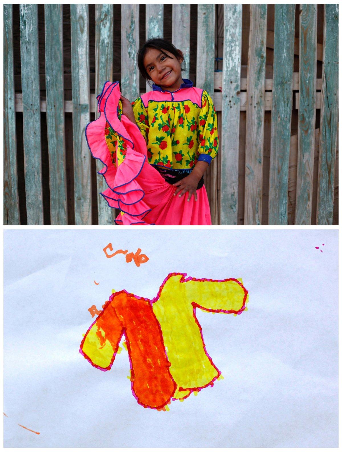 Crianças de todo o mundo desenham fotos do que querem para o Natal 36