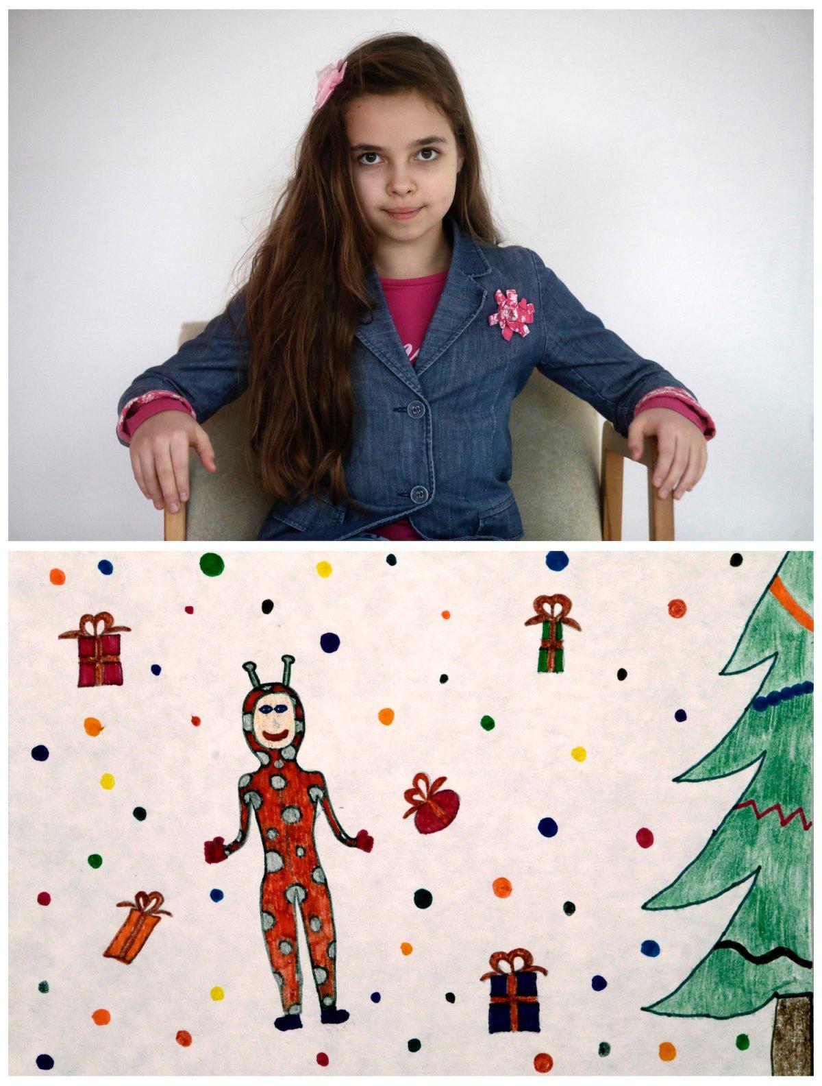 Crianças de todo o mundo desenham fotos do que querem para o Natal 37