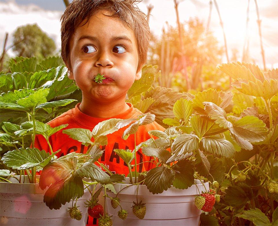 Fotógrafo tira divertidas e ternas fotos de seu filho 03