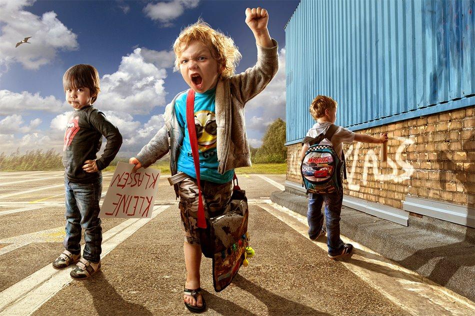 Fotógrafo tira divertidas e ternas fotos de seu filho 07
