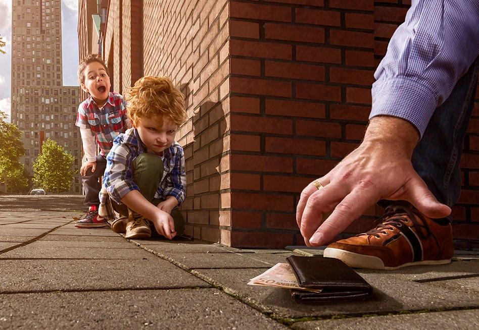 Fot�grafo tira divertidas e ternas fotos de seu filho 12