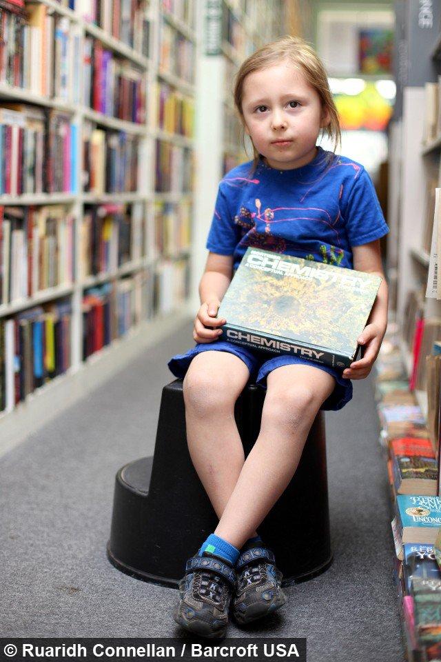 Afirmam que menino g�nio de 5 anos pode ler a mente