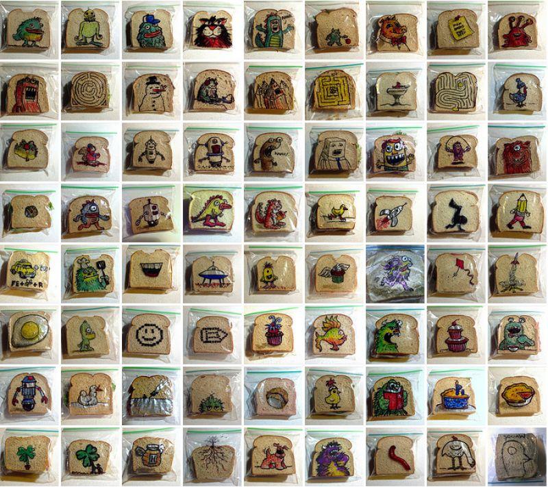 Paizão criativo compartilha 5 anos de lanche escolar artístico 07