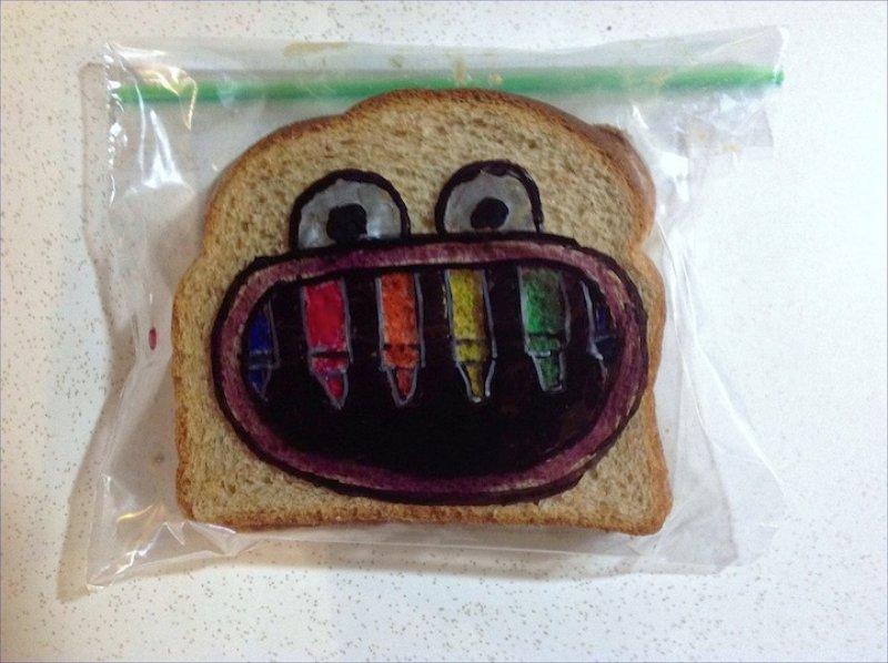 Paizão criativo compartilha 5 anos de lanche escolar artístico 12