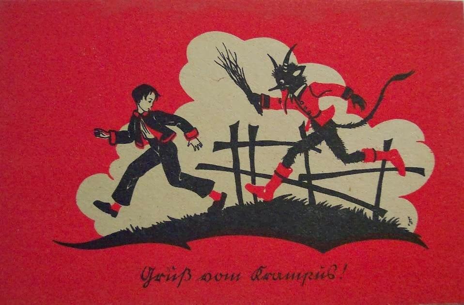 Krampus, a nêmese diabólica de Papai Noel 10