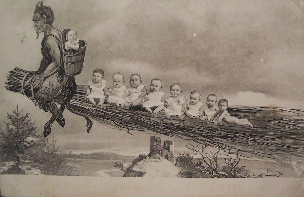 Krampus, a nêmese diabólica de Papai Noel 11