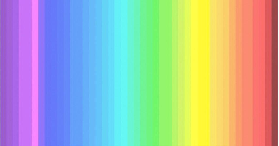 Quantos cores você é capaz de distinguir nesta imagem? Só 1 em cada 4 pessoas consegue ver todas