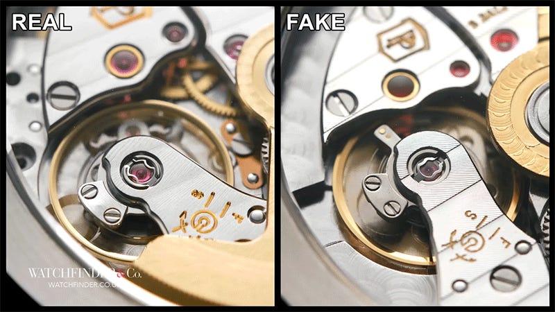 Você consegue diferenciar um relógio suíço de $ 100.000 de uma imitação?