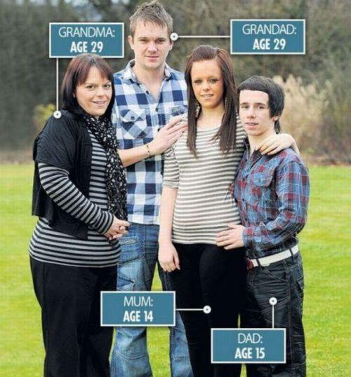 Galês se tornou avô aos 29 anos 09