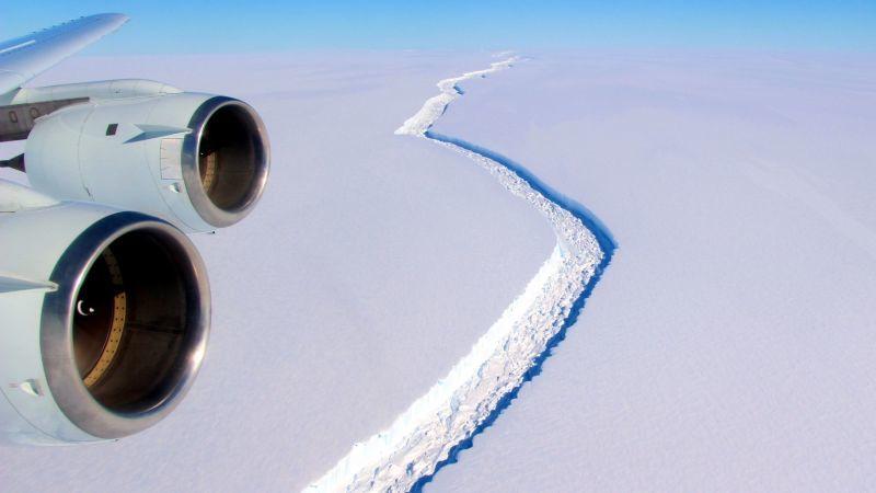 Uma vasta região da Antártida está a ponto de ruir e liberará um iceberg de proporções colossais