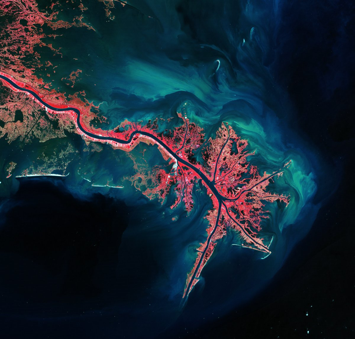 Uma década de observação da Terra a partir do espaço nos deu essas vistas incríveis 05