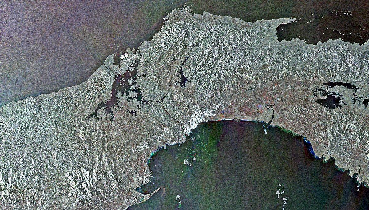 Uma década de observação da Terra a partir do espaço nos deu essas vistas incríveis 12