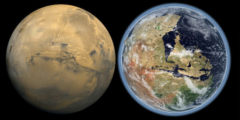 Congressista republicana obriga à NASA a esclarecer se alguma vez existiu uma antiga civilização em Marte