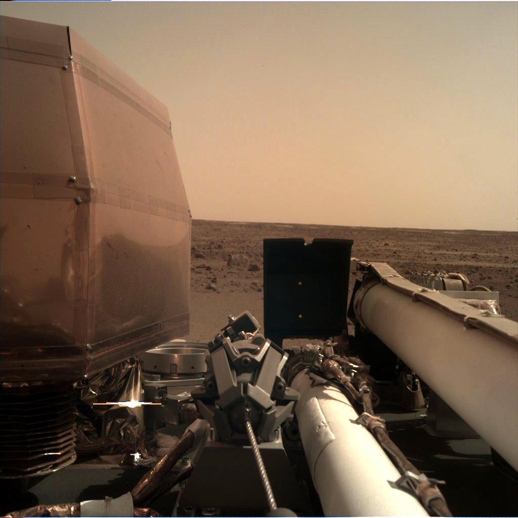 A sonda Insight da NASA amartizou com sucesso