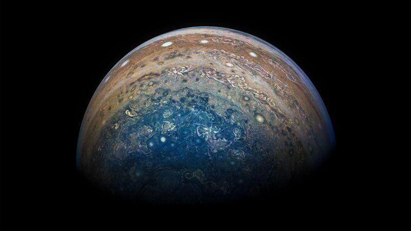 É a Glória: A sonda Juno voltou a completar uma órbita ao redor de Júpiter 01