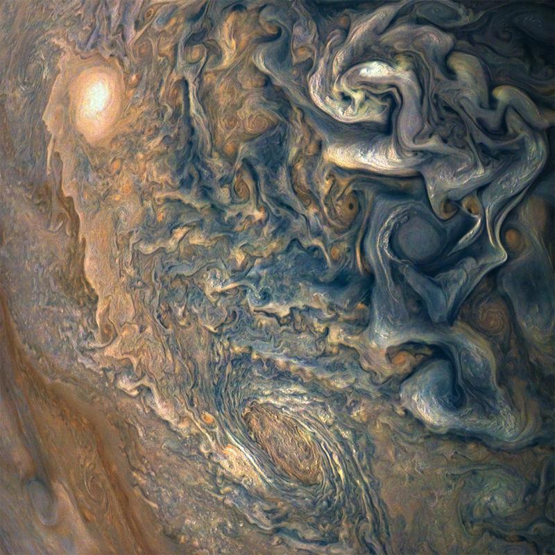 É a Glória: A sonda Juno voltou a completar uma órbita ao redor de Júpiter 02