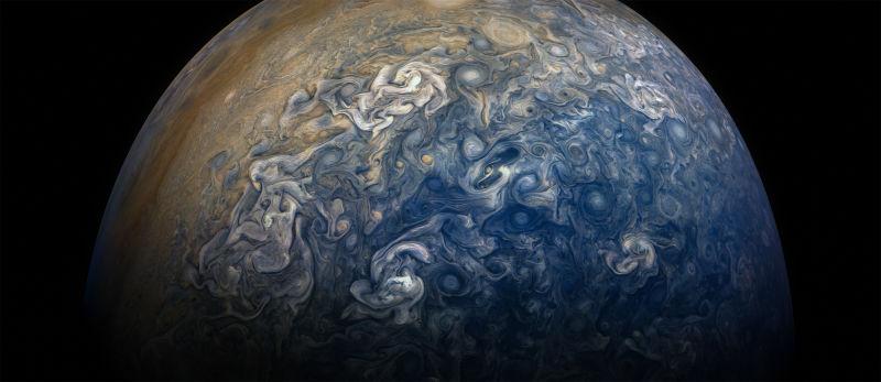 É a Glória: A sonda Juno voltou a completar uma órbita ao redor de Júpiter 03