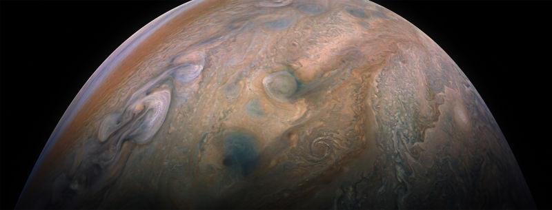 É a Glória: A sonda Juno voltou a completar uma órbita ao redor de Júpiter 10